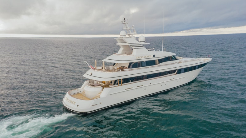 Feadship-Fast 2001-EXCELLENCE Old Lyme-Connecticut-United States-Feadship 153  EXCELLENCE  Exterior Profile-1461018-featured