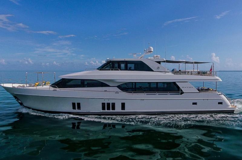 Ocean Alexander-100 Skylounge 2016-Sea N Sea Naples-Florida-United States-Port View-1596351-featured