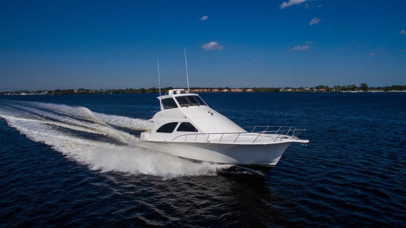 Ocean Yachts-Odyssey 2004-Cash Flow Stuart-Florida-United States-Ocean 57  Cash Flow  Exterior Profile-1639632-featured