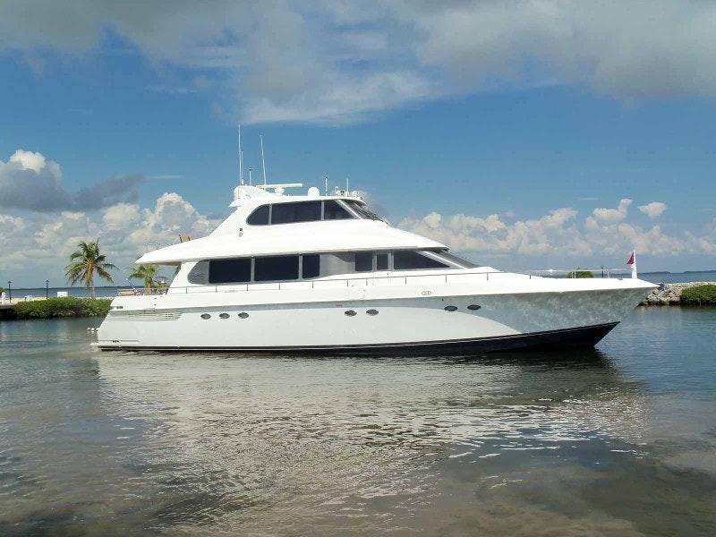 Lazzara Yachts-Grand Salon Skylounge 1997-OHANA Fort Lauderdale-Florida-United States-Profile-1658504-featured