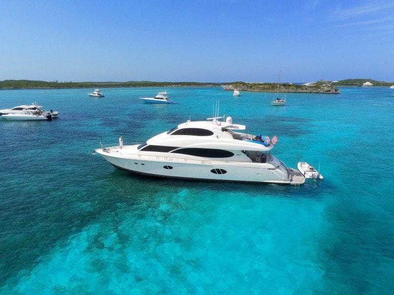 Lazzara Yachts-Motor Yachts 2009-LA BALSITA Miami-Florida-United States-Lazzara 84  La Balsita  Exterior Profile-1672606-featured