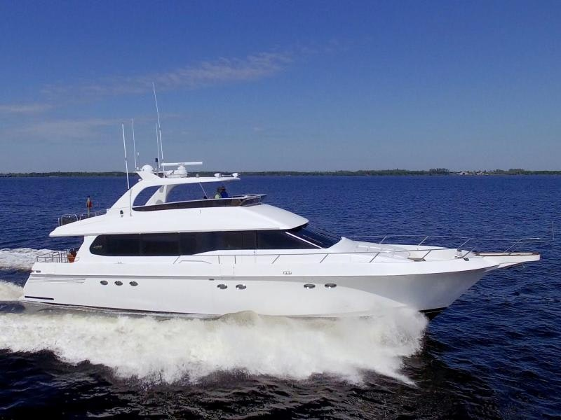 Lazzara Yachts-76 GRAND SALON 1995-Christmas Spirit Fort Myers-Florida-United States-1688177-featured