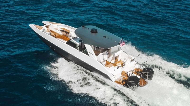 Custom-PRJ Yachts Shadow Cat 40 2021 -Fort Lauderdale-Florida-United States-Main Profile-1714469-featured