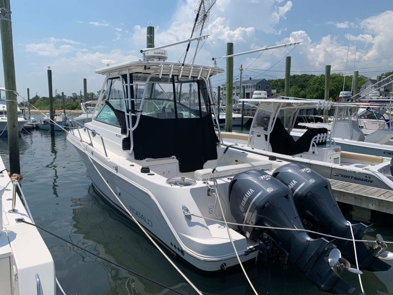 Robalo-305 Open 2014 -Belmar-New Jersey-United States-Port Aft Profile-1714179-featured