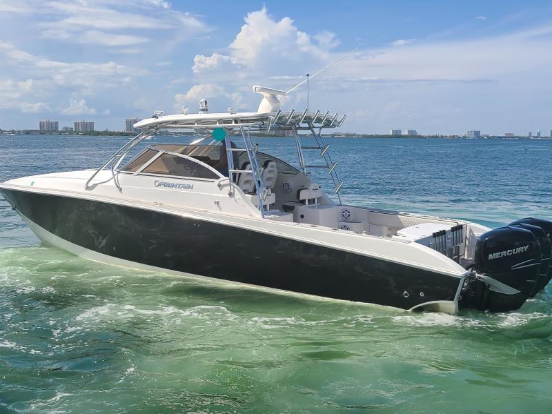 Fountain-38 Sportfish Cruiser 2007 -Miami Beach-Florida-United States-1760434-featured
